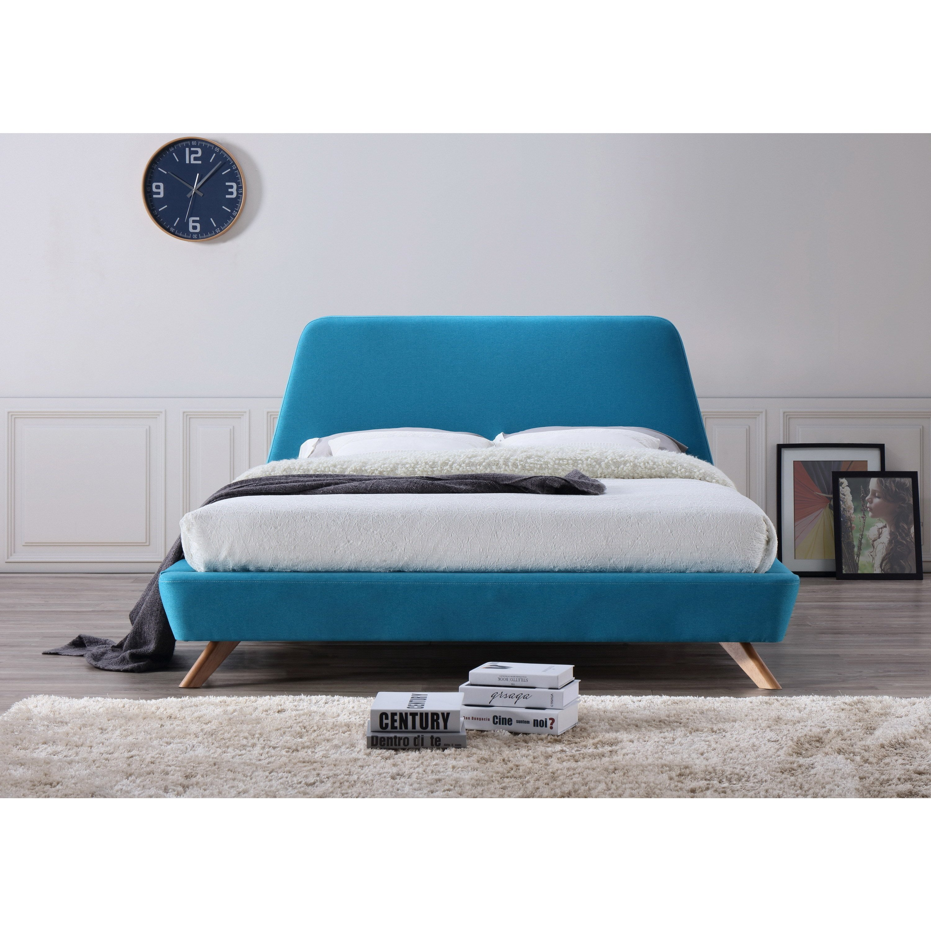 Picture of: Rossville Queen Size Platform Bed Handys Co Furniture