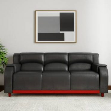 Handys Armonk Leather 3 Seater Sofa