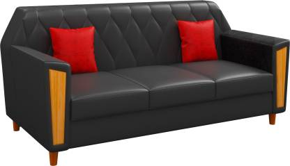 Handys Babylon Leather 3 Seater Sofa