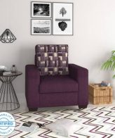 Handys Baldwin Perfect Homes Trieste Fabric 1 Seater Sofa
