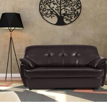 Handys Barnegat collection Leather 2 Seater Sofa2