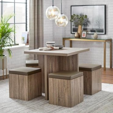 Simple-Living-5-piece-Baxter-Dining-Set-with-Storage-Ottomans-07e2cdd1-b528-4864-bdb7-81ef4c312b97