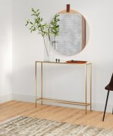 Gillette +Console +Table with+ Mirrored Top